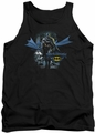 Batman tank top From The Depths adult black