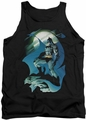 Batman tank top Glow Of The Moon adult black