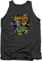 Joker tank top Goblin Candy adult charcoal
