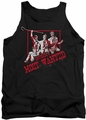 Batman tank top Gotham'S Most Wanted adult black