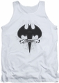 Batman tank top Gothic Gotham adult white