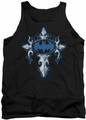 Batman tank top Gothic Steel Logo adult black