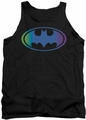 Batman tank top Gradient Bat Logo adult black