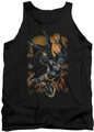 Batman tank top Grapple Fire adult black