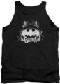 Batman tank top Grim & Gritty adult black