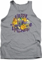 Joker tank top Ha Ha Halloween adult heather