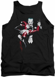 Harley Quinn tank top Harley And Joker adult black