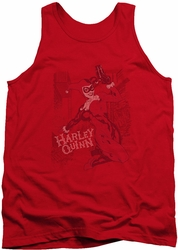 Harley Quinn tank top Harley's Packing adult red