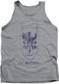 Batman tank top I'M Batman adult heather