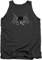 Batman tank top Ill Omen adult charcoal