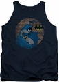 Batman tank top In The Spotlight adult navy