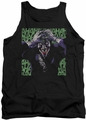 Joker tank top Insanity adult black