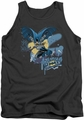 Batman tank top Into The Night adult charcoal
