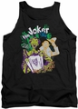 Joker tank top It'S All A Joke adult black