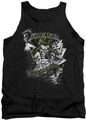 Joker tank top Its All A Joke adult black
