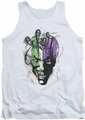 Joker tank top Airbrush adult white