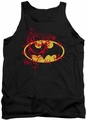 Joker tank top Graffiti adult black