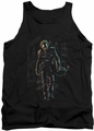 The Joker tank top Joker Leaves Arkham adult black