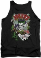 Joker tank top Jokers Wild adult black