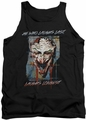Joker tank top Just For Laughs adult black
