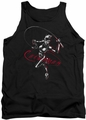 Catwoman tank top Kitten With A Whip adult black