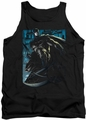 Batman tank top Knight Falls In Gotham adult black