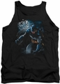 Batman tank top Light Of The Moon adult black