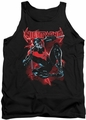 Nightwing tank top Lightwing adult black