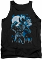 Batman tank top Moonlight Bat adult black