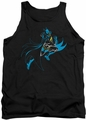 Batman tank top Neon Batman adult black