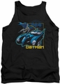 Batman tank top Nice Wheels adult black