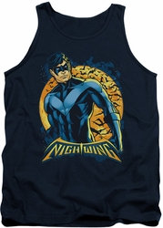 Nightwing tank top Moon adult navy