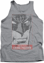 Batman tank top Orginal Crime Fighter adult heather