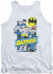 Batman tank top Out Of The Pages adult white
