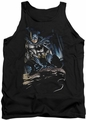 Batman tank top Perched adult black