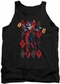 Harley Quinn tank top Pow Pow adult black