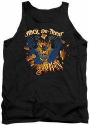 Batman tank top Pumpkin Burst adult black