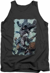Batman tank top Punch adult charcoal