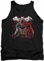 Batman tank top Raging Bat adult black