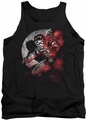 Batman tank top Robin Spotlight adult black