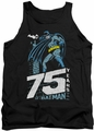 Batman tank top Rooftop adult black