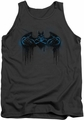 Batman tank top Run Away adult charcoal