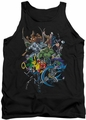 Batman tank top Saints And Psychos adult black
