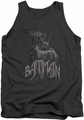 Batman tank top Scary Right Hand adult charcoal
