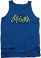 Batman tank top Show Bat Logo adult royal
