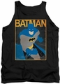 Batman tank top Simple Bm Poster adult black