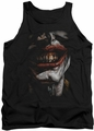 Joker tank top Smile Of Evil adult black