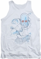 Mr Freeze tank top Snowblind Freeze adult white