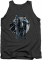 Batman tank top Spotlight adult charcoal
