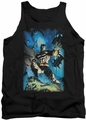 Batman tank top Stormy Dark Knight adult black